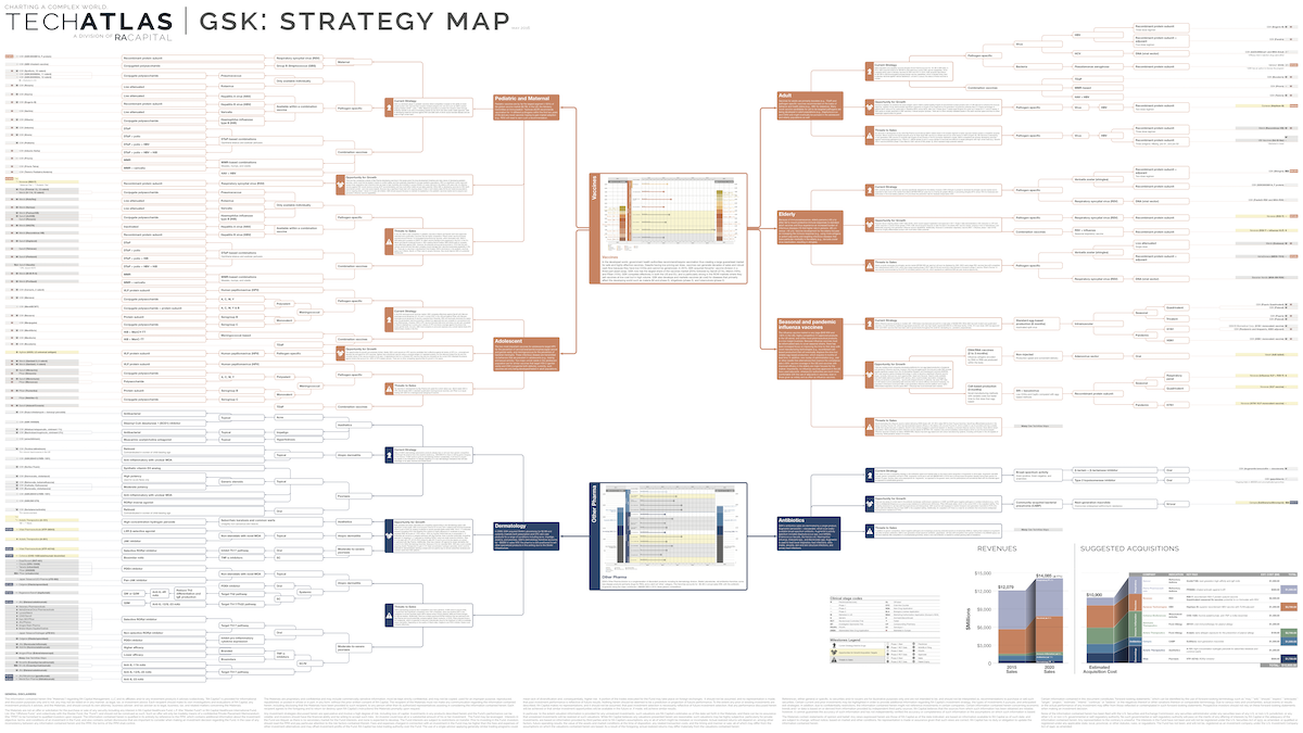 GSK: Strategy map