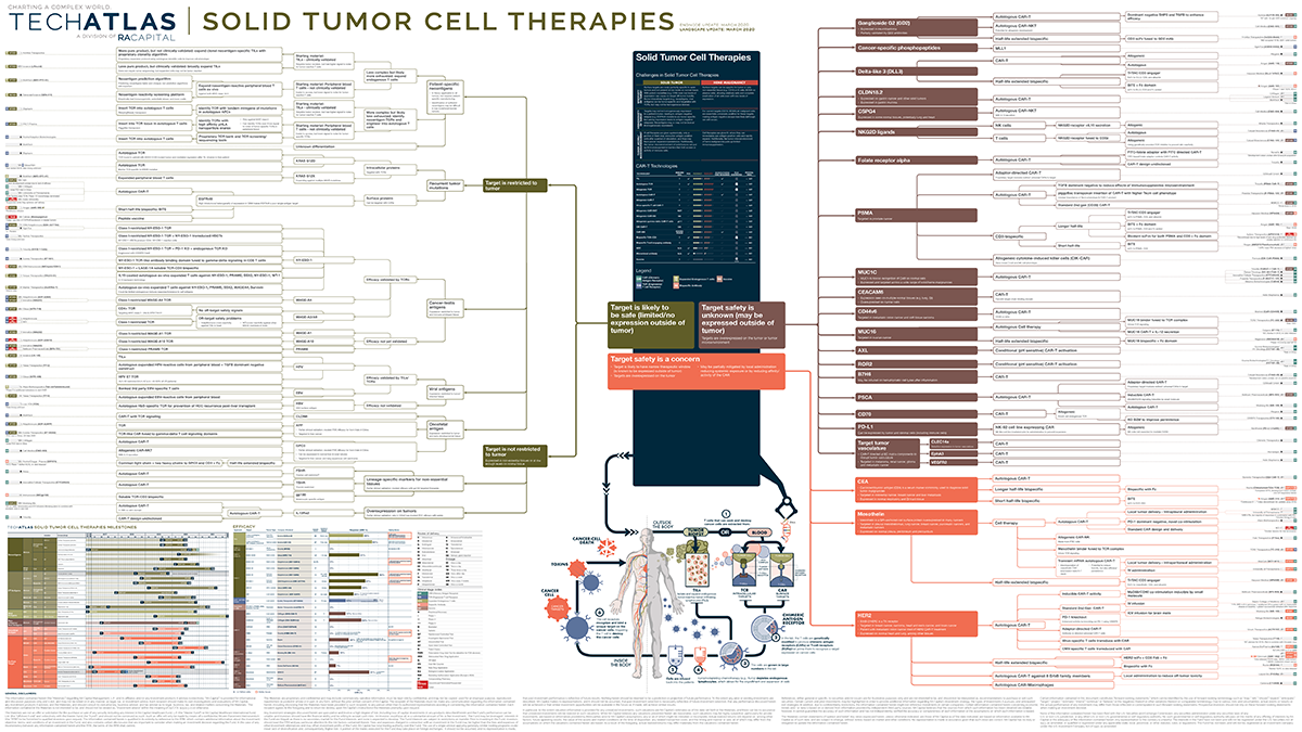 Solid Tumor Cell Therapy Map